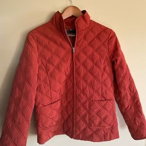 Jones New York jacket in a dark orange 🍁🍂
